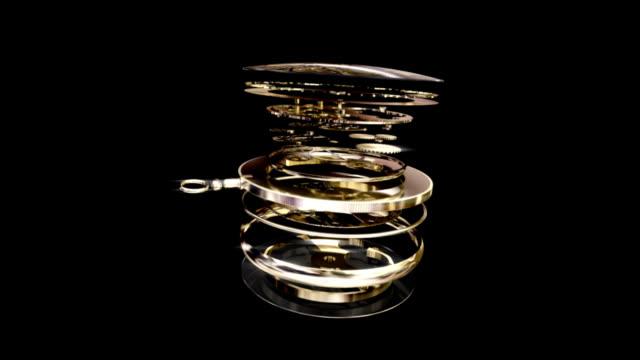 Gold Pocket Watch with Alpha Matte! video