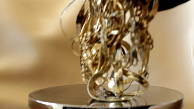 Gold Scales Jib Shot video