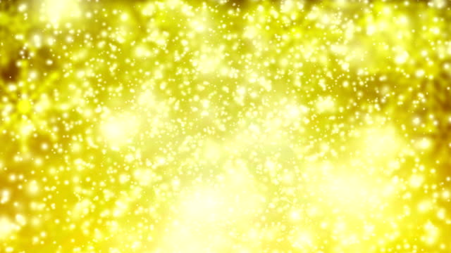 Gold snow fall video