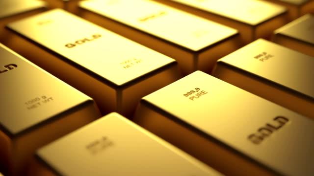 stockvideo's en b-roll-footage met goud - aandelen