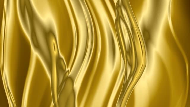 Golden  background. HD. video
