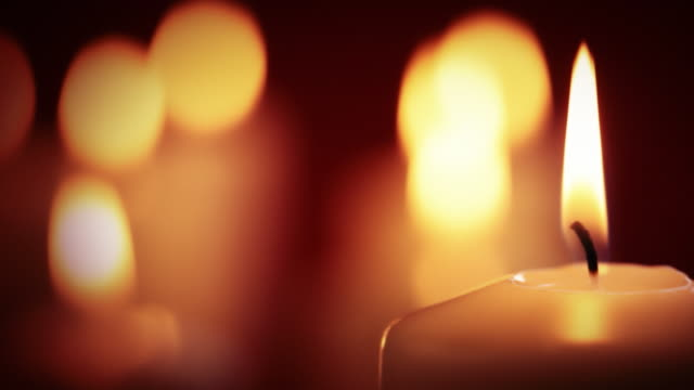 Golden candle video