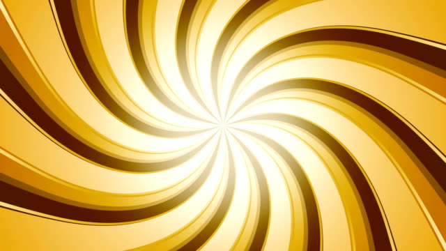 Golden Candy Swirl Retro sunburst backgrounds animations suited for broadcast, commercials and presentations. They can be used also in Celebration, Party and Birthday or New Year animations. {{relatedSearchUrl(carousel.phrase)}} stock videos & royalty-free footage