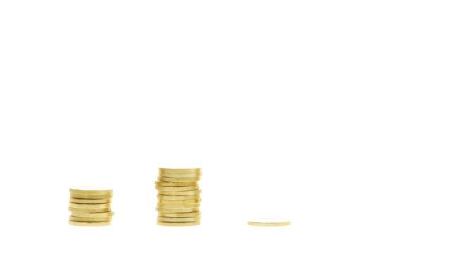 HD: Golden Coins Piling Up video