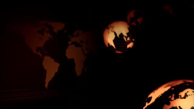 Golden Frame Earth Circline video