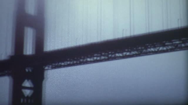 Golden Gate Bridge 1960's video