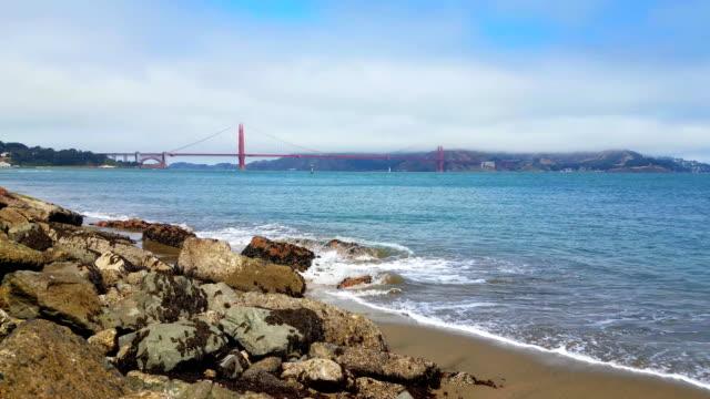 Golden Gate Bridge.  4k video