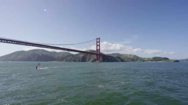 Golden Gate Bridge and hills