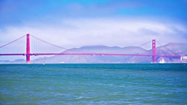 Golden Gate Bridge and Sailfish. Iconic View.