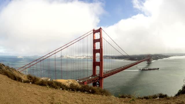 Golden Gate Bridge San Francisco Bay Time Lapse video
