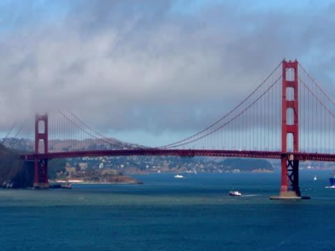 Golden Gate Bridge, San Francisco, Fast Motion video