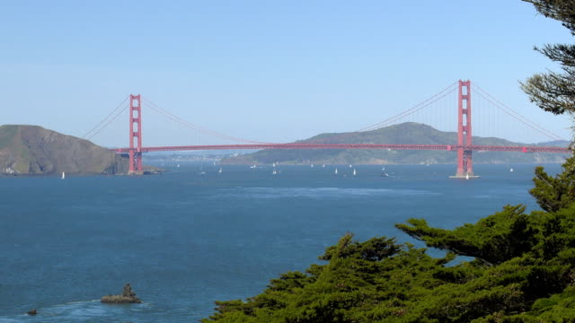 Golden Gate Bridge. San Francisco. – Video