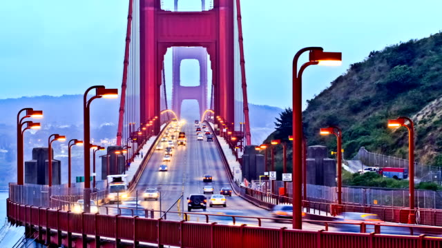 Golden Gate Bridge Time Lapse video