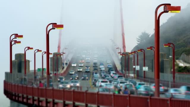 TIME LAPSE: Golden Gate Bridge Traffic video