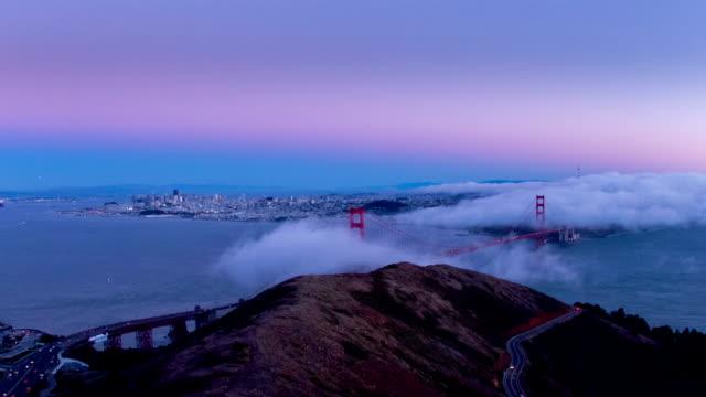 Golden Gate Sunset video
