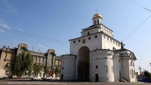 Golden Gates of the Vladimir city / Russia video