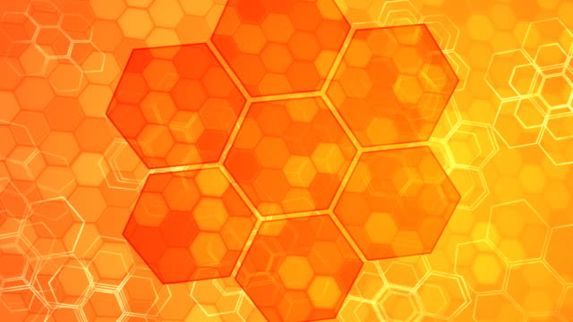 Golden Honeycombs video