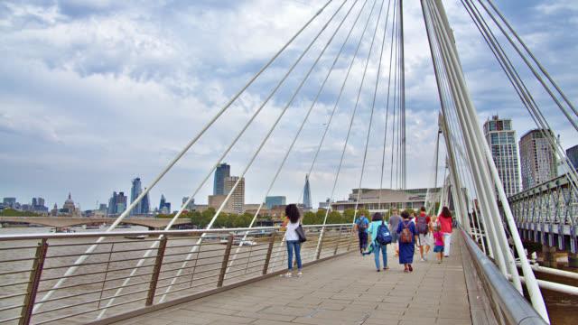 Golden Jubilee Bridges. London