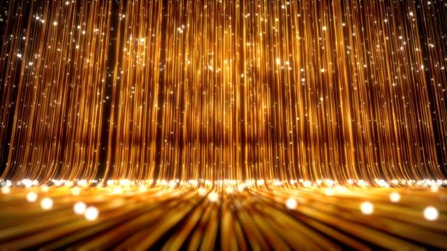 vídeos de stock, filmes e b-roll de fundo de luxo dourado - eventos de gala