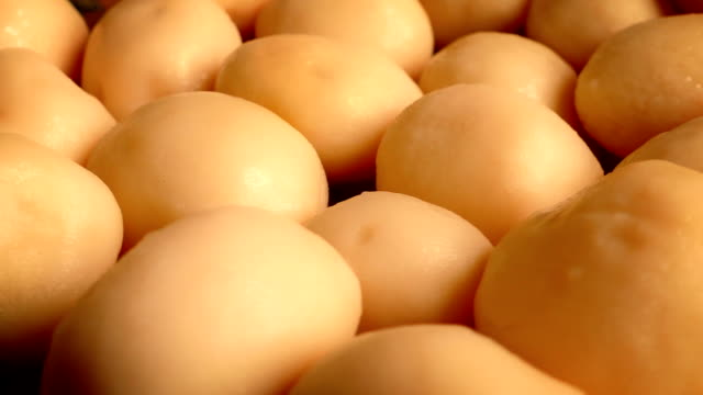 Golden New Potatoes Rotating video