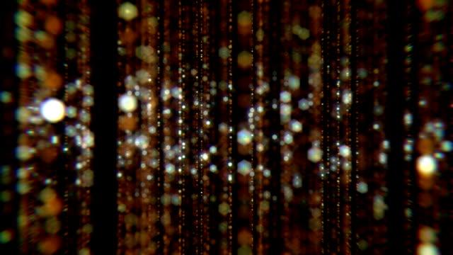 golden rain background - art deco architecture stock videos & royalty-free footage