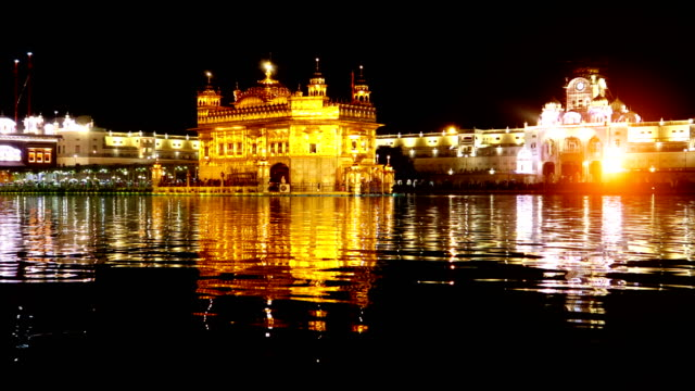 Golden Temple In Amritsar, India video