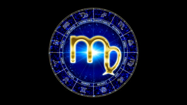 vidéos et rushes de or virgo zodiacal symbole - ligue sportive