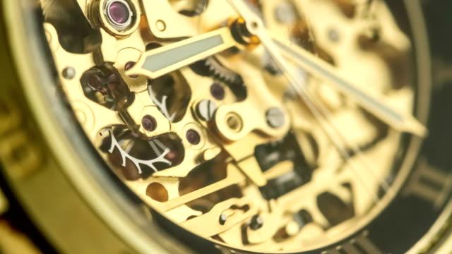 Golden Watch Mechanism Working