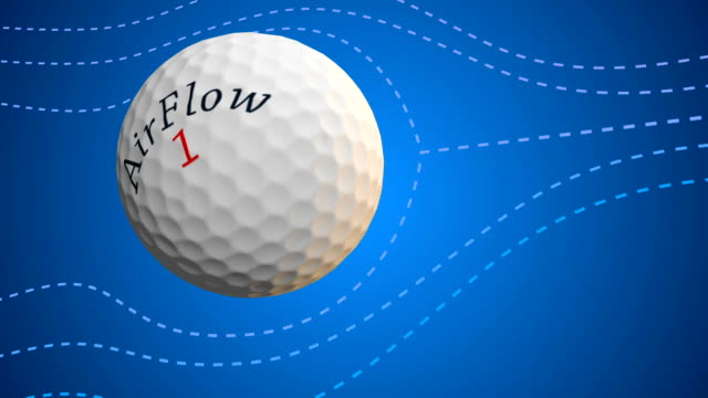 Golf Ball Aerodynamics ビデオ