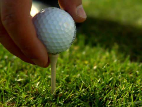 PAL- Golf ball being hit video