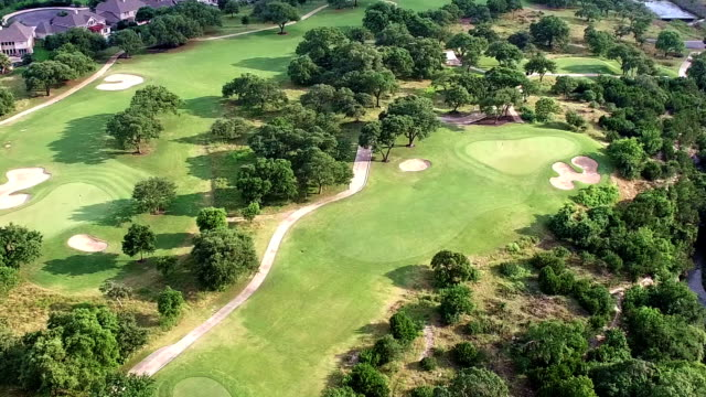 Golf Course Texas Hill Country in 4K video