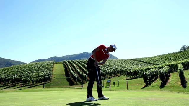 HD CRANE: Golf field video