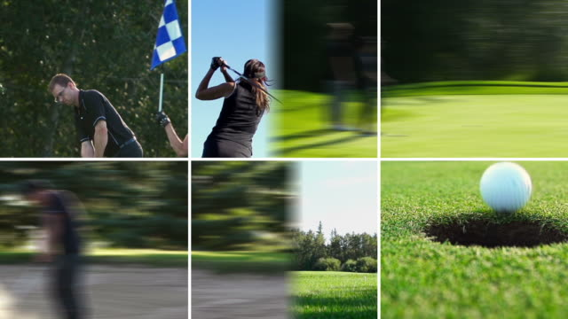 Golf montage, summer freedom video