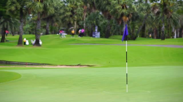 Golf sport concept flag