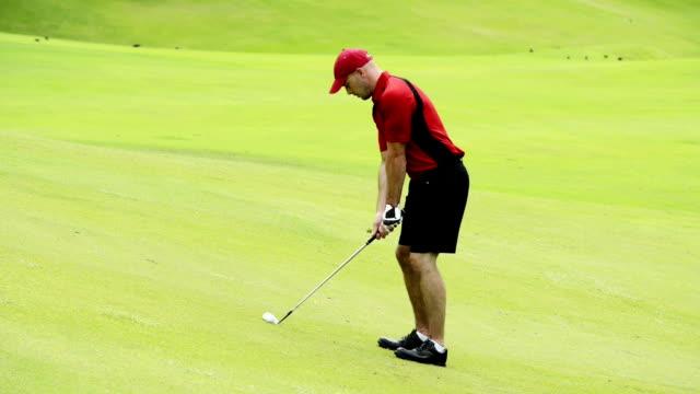 da golf - atleta professionista video stock e b–roll