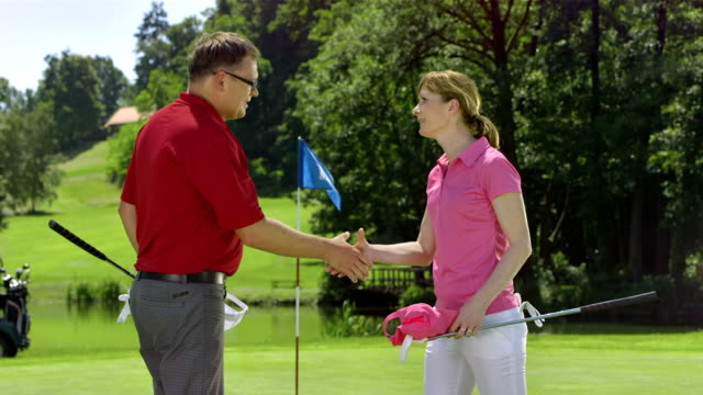 MS DS Golfers Shaking Hands video