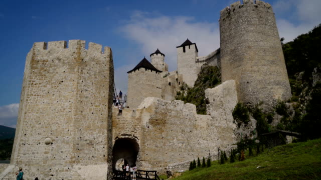 Golubac was a medieval fortified town on the Danube River.