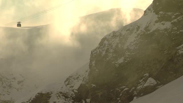 Gondola raises. video