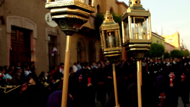 Good Friday procession video