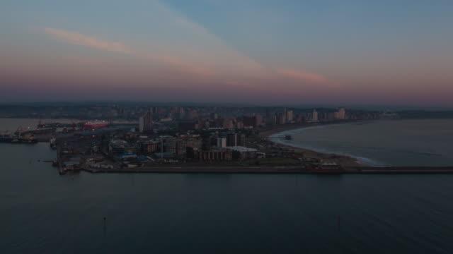 Good morning Durban sunrise time-lapse. video