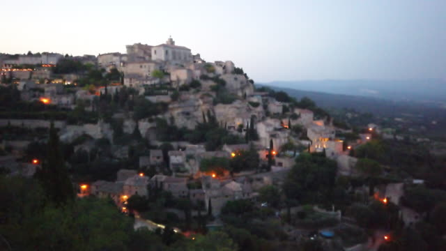 Gordes, one of the most beautiful and most visited French villages near Provence-alpes-cote d'azur, France.