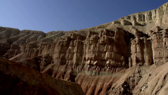 gorge of the ancient canyon - cespuglio tropicale video stock e b–roll