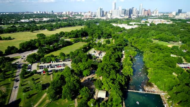 Gorgeous Central Texas Cold Spring Rivers Austin Texas Skyline Cityscape 2019