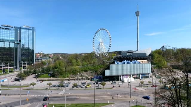 göteborg aerial view - gothenburg bildbanksvideor och videomaterial från bakom kulisserna