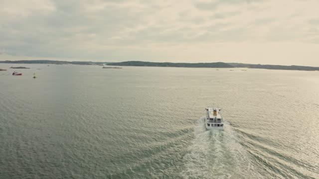 göteborgs skärgårds flyg över vatten - bohuslän nature bildbanksvideor och videomaterial från bakom kulisserna