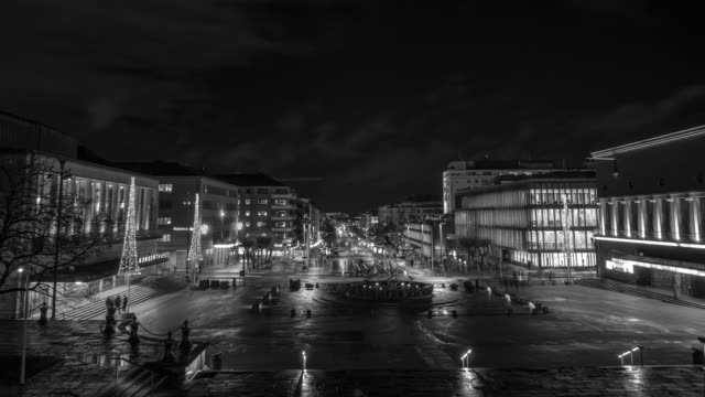 Gothenburg City Black & White video