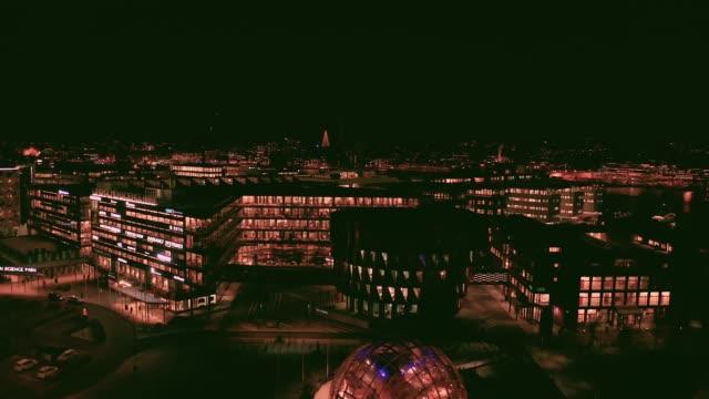 göteborgs stads skyline flygvy - gothenburg bildbanksvideor och videomaterial från bakom kulisserna