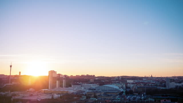 göteborgs stad sunset timelapse - gothenburg bildbanksvideor och videomaterial från bakom kulisserna