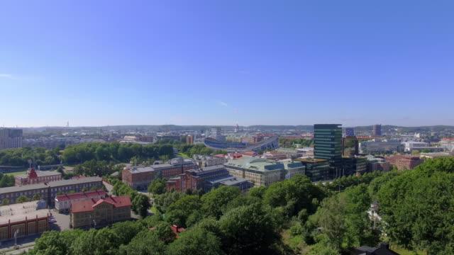 göteborg sverige flygfoto över staden - gothenburg bildbanksvideor och videomaterial från bakom kulisserna