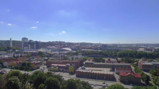 göteborg sverige flygfoto över staden - bohuslän nature bildbanksvideor och videomaterial från bakom kulisserna